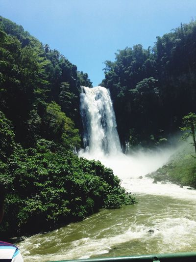 Katigbawasan Falls Hello World Your Art Is Portable With Caseable Water Falls Enjoying Life