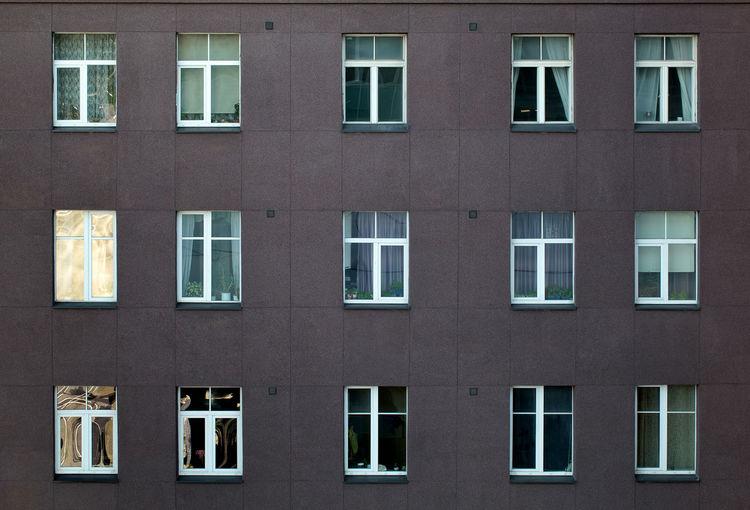 Apartment Architecture Block Building Exterior Façade High-Rise House Housing Multistorey Multistory Window