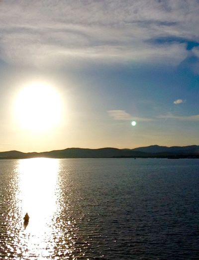 Sun Sunset Sea Saint Raphael