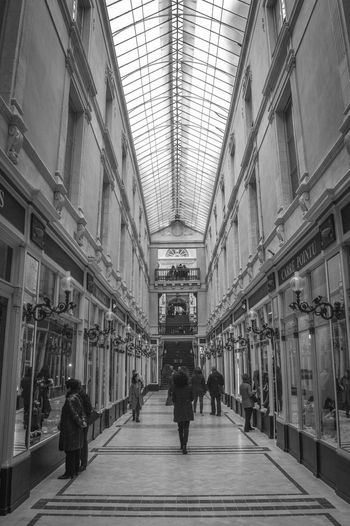 Nantes Passage Pommeraye Passage Pommeraye Shop Walking Around EyeEm Gallery EyeEm Bnw Getty Images Noir Et Blanc Blackandwhite France