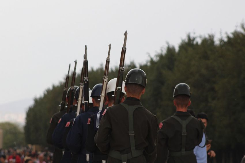 NeMutluTurkumDiyene Turkey Soldiers Turkisharmy Anıtkabir