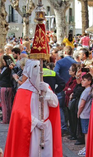 Celebration Crowd Cultures Easter 2016 Easter 2016 In Nerja Easter 2016 Parades Easter Celebrations Easter In Nerja Easter In Spain Easter Sunday Focus On Foreground Large Group Of People Nerja Nerja Andalucia Patriotism Red Religion Tradition Traditional Clothing