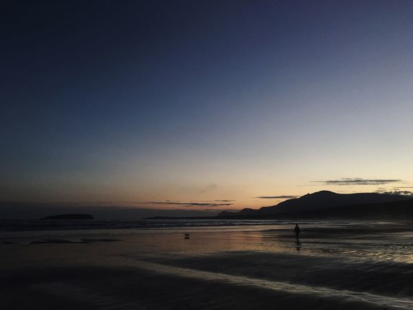 Autumn Ireland Irelandinspires Sunset Scenics Tranquility Tranquil Scene Dusk Silhouette Beauty In Nature Wildatlanticway Atlantic Atlantic Ocean Achill Achill Island County Mayo Beach Keem Keem Strand