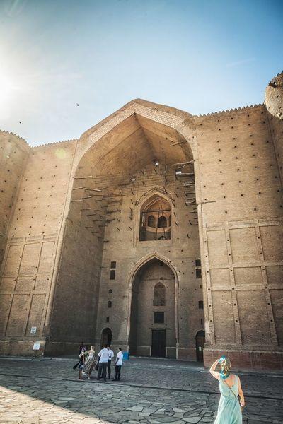 Turkestan Ancient Arch Architecture Cultures Day Religion Room Turkestan