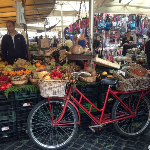 Roma Itália campo dei Fiore Street City Life