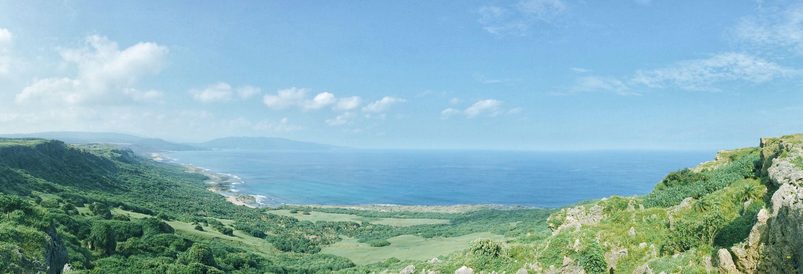 Sea Blue Sky