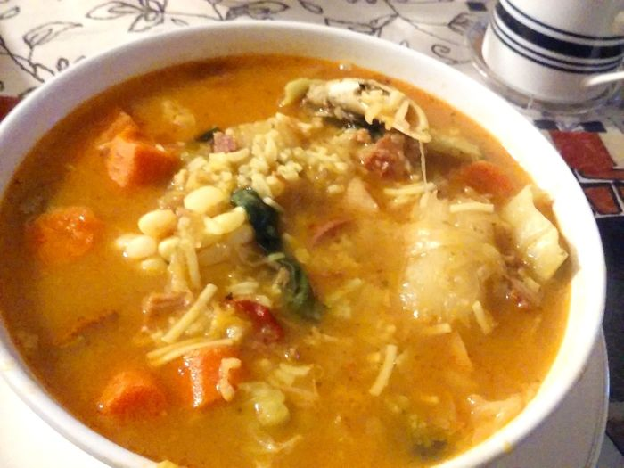 Soup Time  Soup Soup Of The Day Food No People Home Cooking Winter Meals Lets Eat!