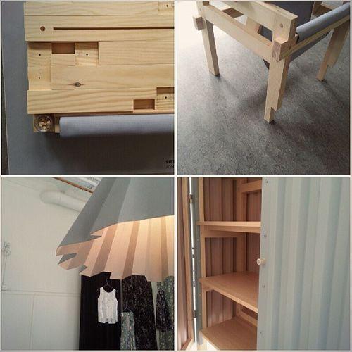 I helgen är sista chansen att se mina möbler och massa andra bra grejer på Hdk. Hdk13