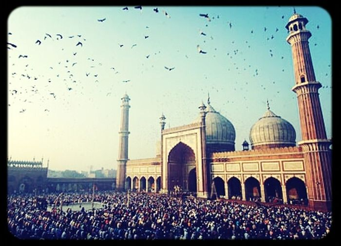 Eid Day at Badshahi Mosque ?