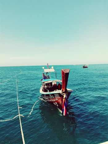 Longtailboat Thailand Water Sea And Sky Seaside Holiday♡ Throwback Good Times Vacations Wishicouldgoback Colourful Colourmehappy Feel The Journey Mission Feel The Journey On The Way