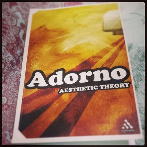 Overly-stimulating. Theodoradorno Aesthetictheory Books