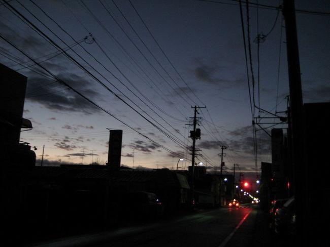 Iwate Japan Morioka Quiet Moments Red Light Tohoku 夜明け 岩手 東北 盛岡