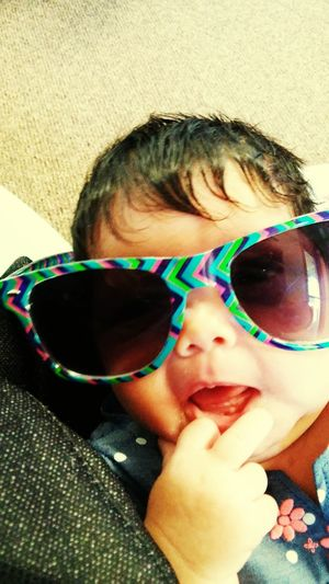 MommysPrincess One Month❤ Mommysgirl💞 I Love My Sunglasses.