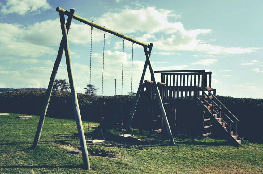 Better Together your childhood is incomplete with these Childhood Swings Playground Kiddy