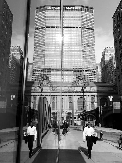 Andrew City Building Exterior Built Structure Architecture Large Group Of People City Life Travel Transportation Modern Women Men Real People Lifestyles Travel Destinations Skyscraper Outdoors Adult Adults Only People Day New York City EyeEm Best Shots - Black + White EyeEm Best Shots NYC Street Photography