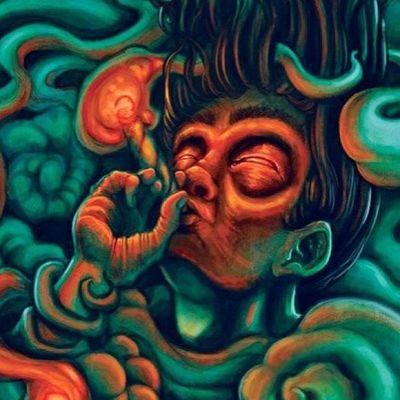 Psy Psyart Psyhavoc Psychedelic Psychedelicart LSD Lsdart Trip Trippy Acidtrip Psyart Illusions Mushrooms Lucy