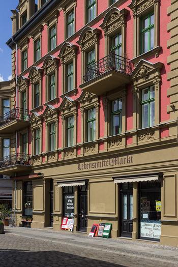 Berlin Köpenick Altstadt Berlin Geschäft Alt Architecture Awning Building Exterior Built Structure City Clear Sky Day Façade Fassade Köpenick Laden No People Outdoors Sky Street Window