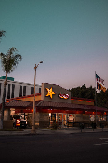 Built Structure Exterior Building Exterior Los Angeles, California USA Colors Colorful Architecture Fast Food Burger Restaurant Sunset Sunset_collection
