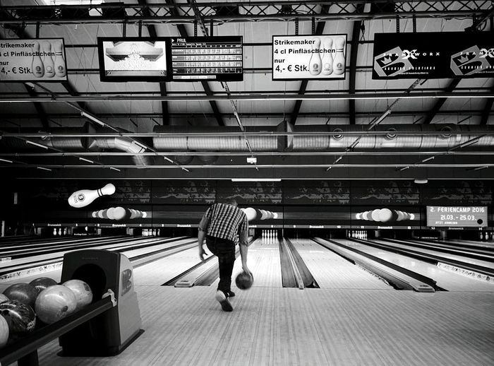 Day 258 - Bowling Berlin Blackandwhite Bowling 365florianmski 365project Day258