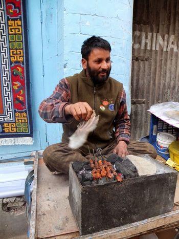 Hands At Work Lamb Kebab Leh Ladakh.. Portraitist - 2016 Eyeem Awards The Street Photographer - 2016 EyeEm Awards Photojournalist Eyeem 2016