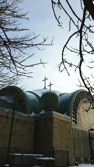 Brunches Church Winter Crosses