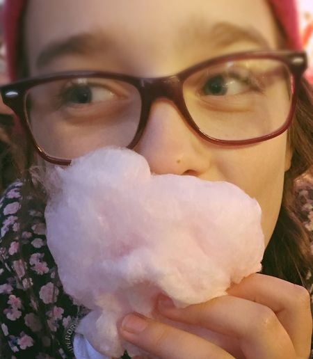 Young Adult Leisure Activity Eyeglasses  Lifestyles Close-up Looking At Camera Fairground Hull City Of Culture 2017 Candy Floss Cotton Candy Beard Happy Child