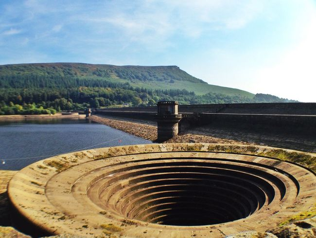the 'plug hole' at the reservoir! Landscape_Collection Nature_collection Water_collection EyeEm Best Shots