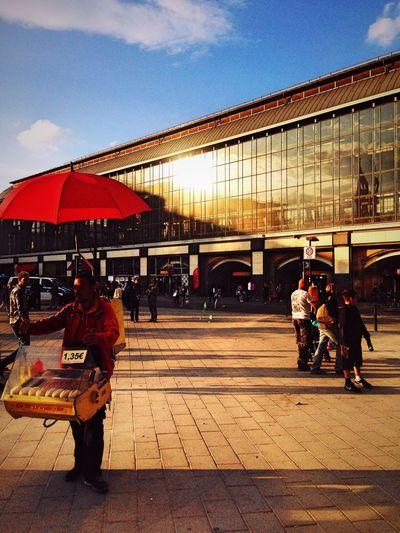 Red Umbrella Street Photography I ❤ BERLIN