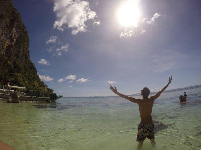 fun under the sun and the beach Gopro Hello World Philippines Eyeem Philippines 🌞😎🗾🏊☀🏄🌅