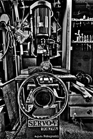 Dougu Mecanic Old Fujifilm X-E2 Fukui Japan 日本 福井 Monochrome B&w Vintage