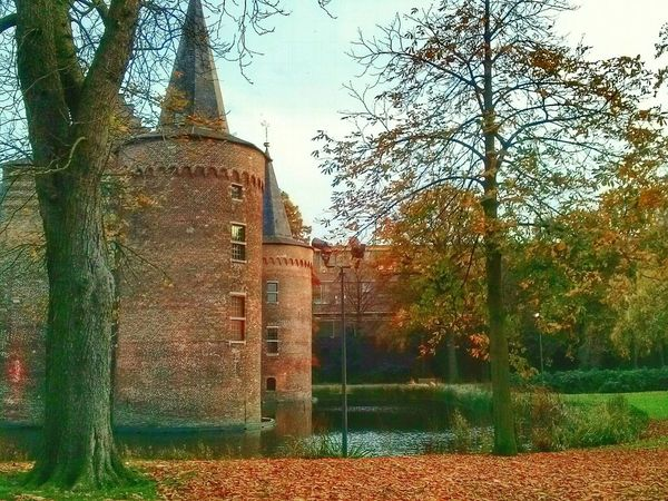 Relaxing Paceful Architecture City Urban View Nice Atmosphere Autumn Colors Autumn Castles Castle North Brabant Helmond Nederland Splash Architecture
