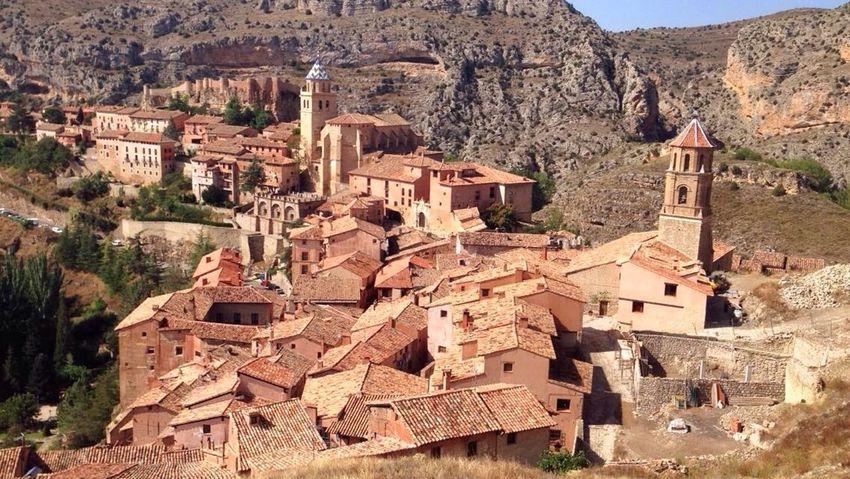 SPAIN Aragón Albarracín Colors Color Palette Colors Of Autumn History Life