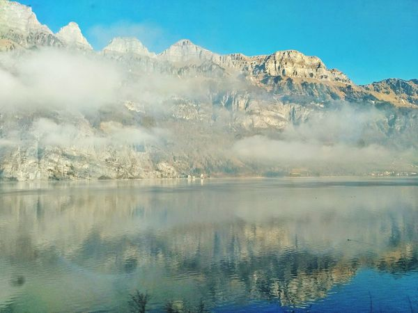 Traveling by train Lake Switzerland Xiaomi R3 Photo Mountain Day Nature Colors Rocks And Water EyeEm Nature Lover EyeEm Best Shots