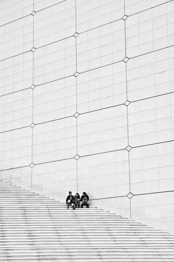 Paris Architecture Blackandwhite Stairs Negative Space Urban Geometry Photography Black & White Eye4photography  Taking Photos