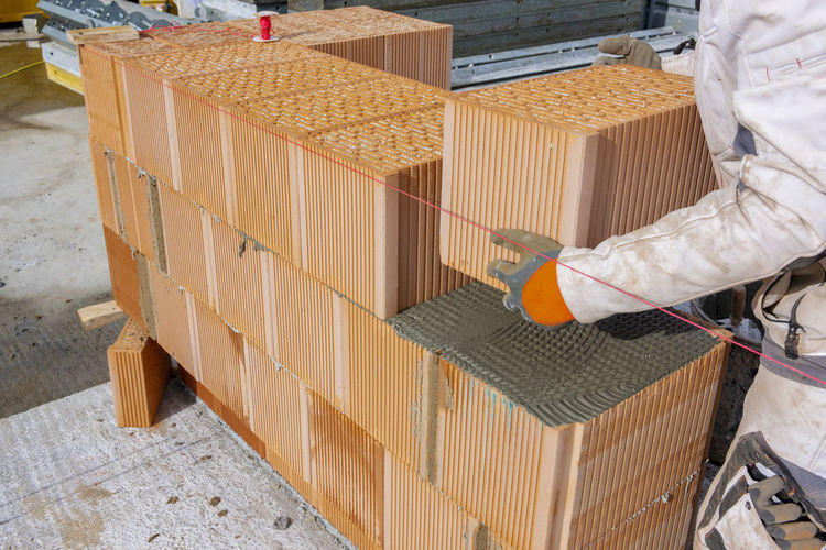 Man working in box