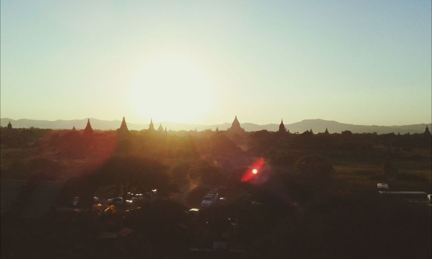 Bagan @ Myanma ancient city with unique architectures of buildings & pagodas Sunsets First Eyeem Photo