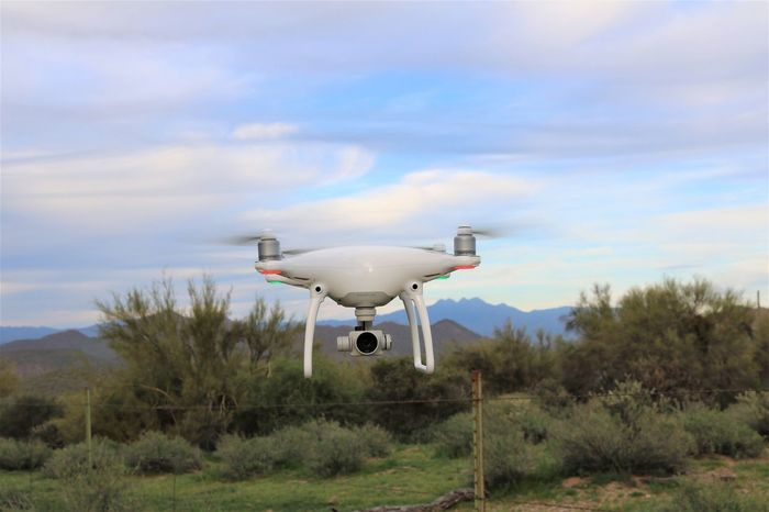 Cloud - Sky Day DJI Phantom 4 Drone  Drones Flying Landscape Nature No People Outdoors Sky Technology Tree