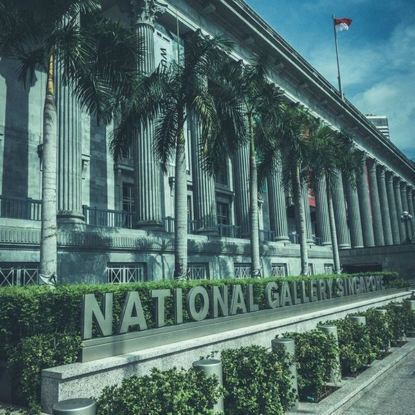 The National Gallery Singapore Singapore ASIA Architecture Sonyrx100iv Lightroom