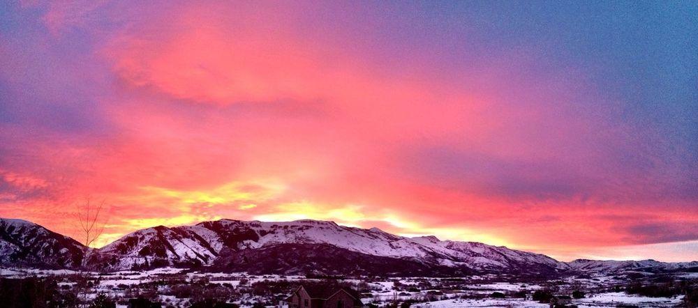 Sunset Snowbasin Ultra Color