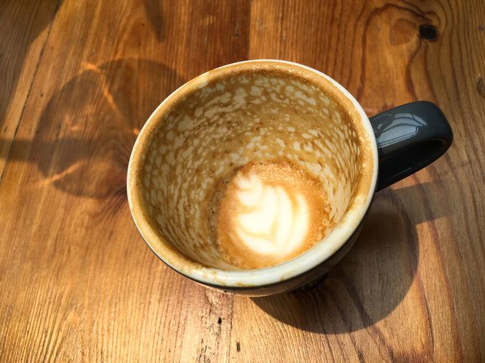 Empty coffee