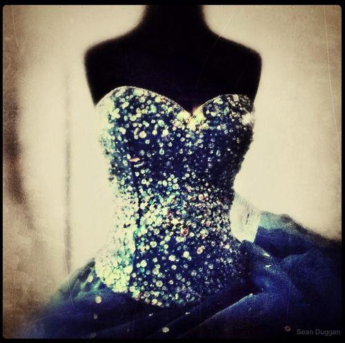 Fancy Blue Sparkle Dress