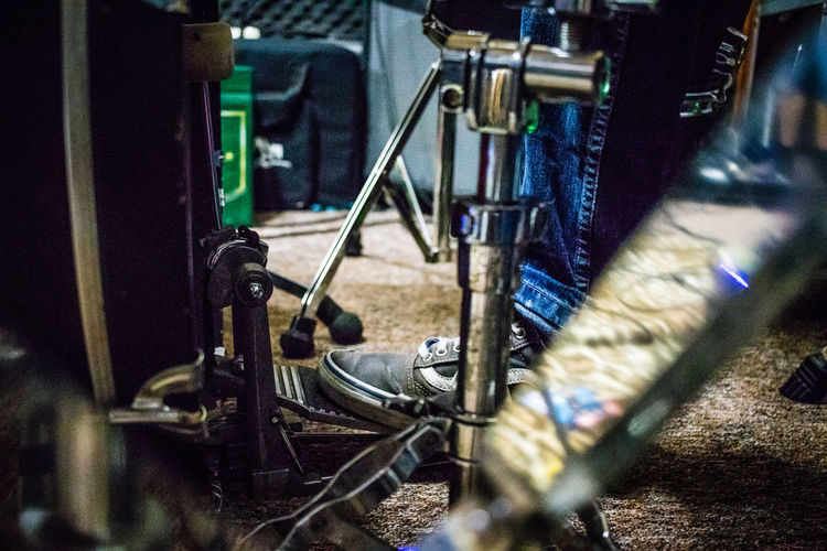 Audio Drum Drummer Foot Sound Of Life Body Part Close-up Day Drumkit Equipment Indoors  Instrument Metal Musical Instrument No People Pedal Rock - Object Selective Focus Workshop Be. Ready. HUAWEI Photo Award: After Dark #urbanana: The Urban Playground