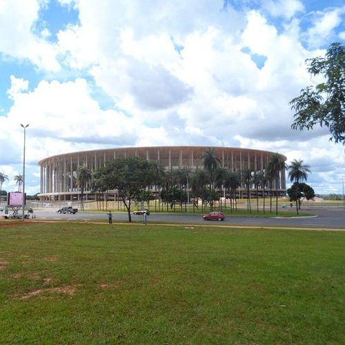Grande Mané. Templo do futebol. Bsb Coolbrasilia Visitebrasilia Futebol Brasília Curtobrasilia