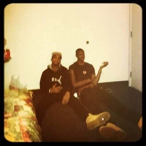 Me And My Bro On New Years
