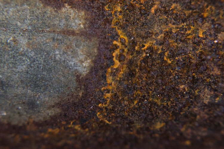 rust Rusty Backgrounds Textured  Full Frame Close-up No People Selective Focus Pattern Abstract Brown Rough Metal Solid Rock - Object Rock Day Nature Extreme Close-up Weathered Outdoors Abstract Backgrounds Lichen Textured Effect