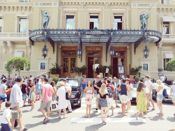 """Monaco's Sunshine , """"find hollie"""" Architecture Real People People Day Adult Large Group Of People Built Structure Monaco Sunshine Dress Photography Vintage Travel Destinations Travel Photography Moments Life In Colors Summer Vibes GoodTimes"""