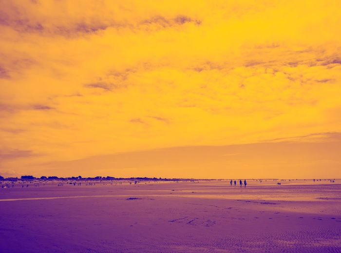 Purple and YOLO Mobilephotography Leica Lens Purple Yellow England United Kingdom P20 Pro Huawei P20 Pro Huawei Sky Sea Beauty In Nature Land Scenics - Nature Beach Water Sunset Tranquility Tranquil Scene Cloud - Sky Non-urban Scene Idyllic Sand Nature