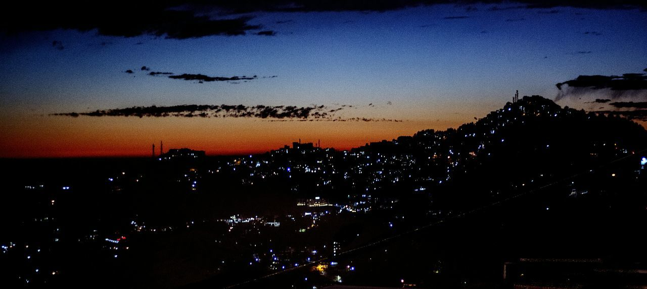 Shimla Lights Sunset Hilltop Nightphotography Nightview Himachal Himachalpradesh