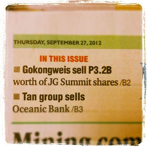 Gokongweis & Tan group sell, Manansala buys them... Haha!! :)) Gmanfin Financialmanagement Instagraphy Themanansala photography manila milan newyork paris LA london france australia newzealand ireland brazil wales japan hongkong china tokyo india malaysia vietnam europe asia travel travelasia