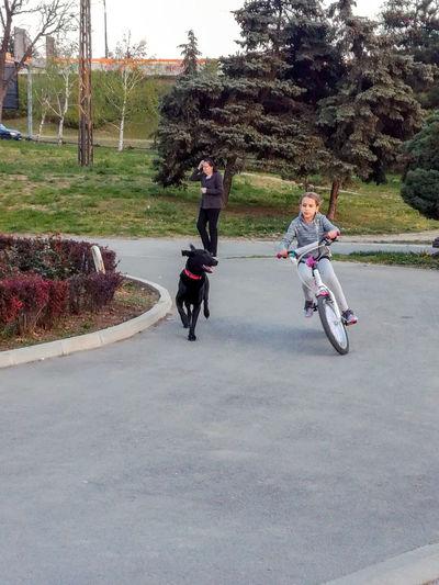 Cycling Girl